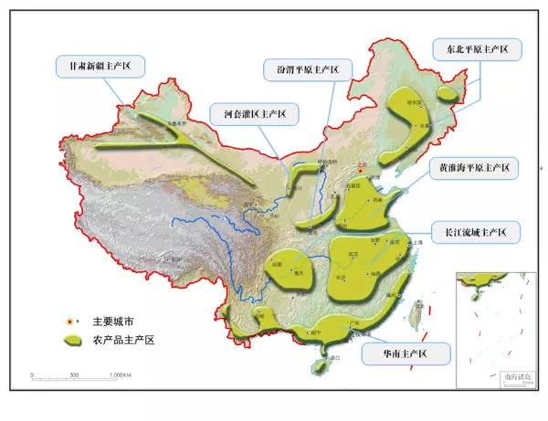 新疆森林分布示意图分享展示